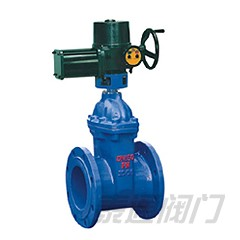 RVEX electric resilient seated gate valve